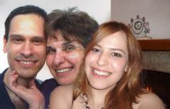 Giovanni, Iole e Mariachiara, anno 2008