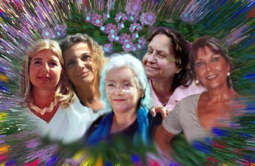 Glodis, Erandoro, Cristina, Mimma e Nunù