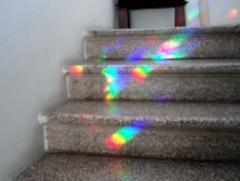 Arcobaleni sulle scale