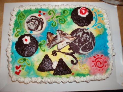 torta dipinto