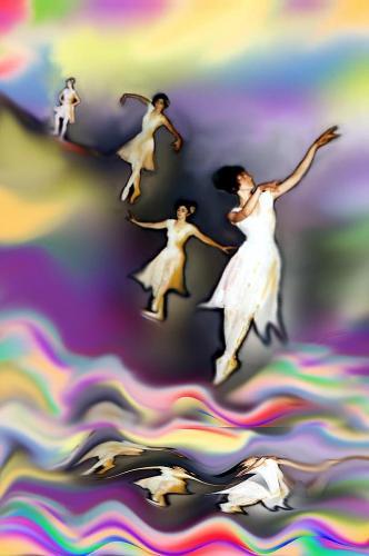 Maestra di ballo riflessa 2