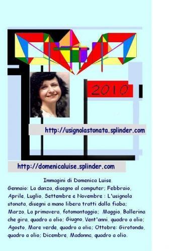 Copertina calendario