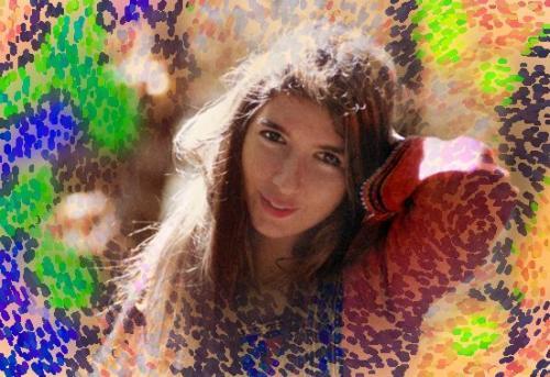 glo hippy forever sfondo astratto