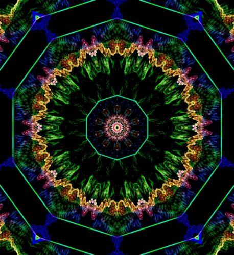 Caleidoscopio coloratissimo