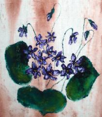 Particolare violette