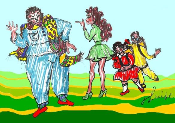 La famiglia Carnevale quattro