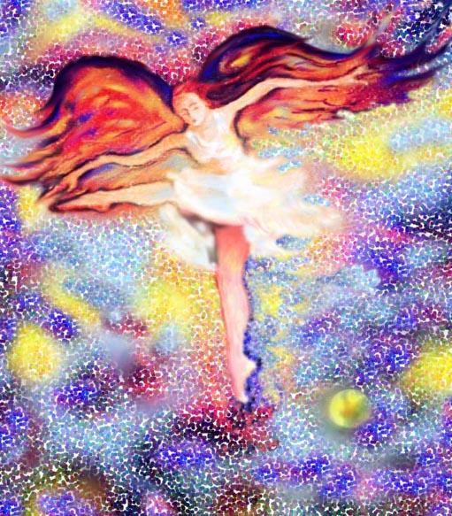 Ballerina farfalla e luna 3