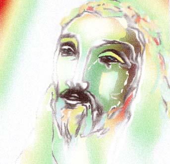 Volto di Gesù bagliore diffuso 2