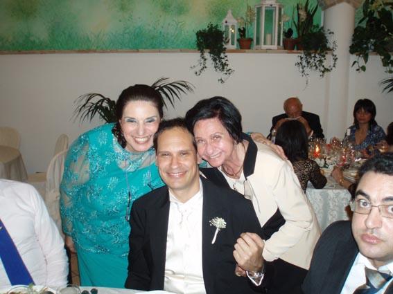 con mamma Iole e il nipote Giovanni