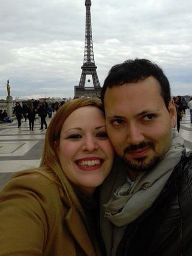 Gli sposini a Parigi