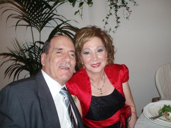 Il papà e la mamma dello sposo