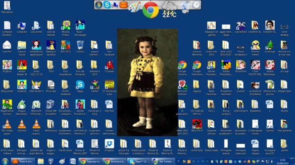 Desktop di oggi, settembre 2014